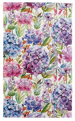 Hydrangea Cotton/Linen Tea Towel 50x70cm