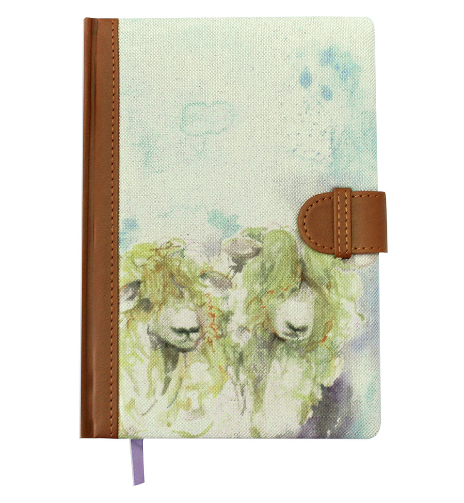 Lincoln Sheep Notebook 15x21cm