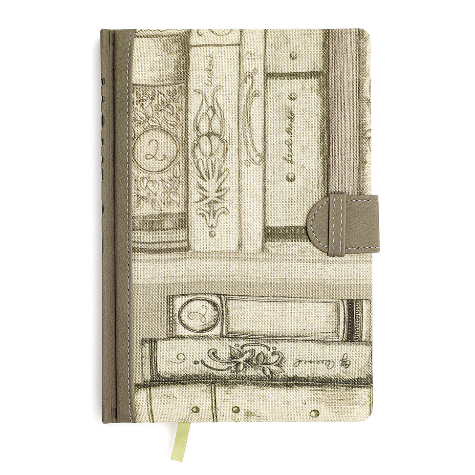 Library Books Notebooks 34 x 24 cm