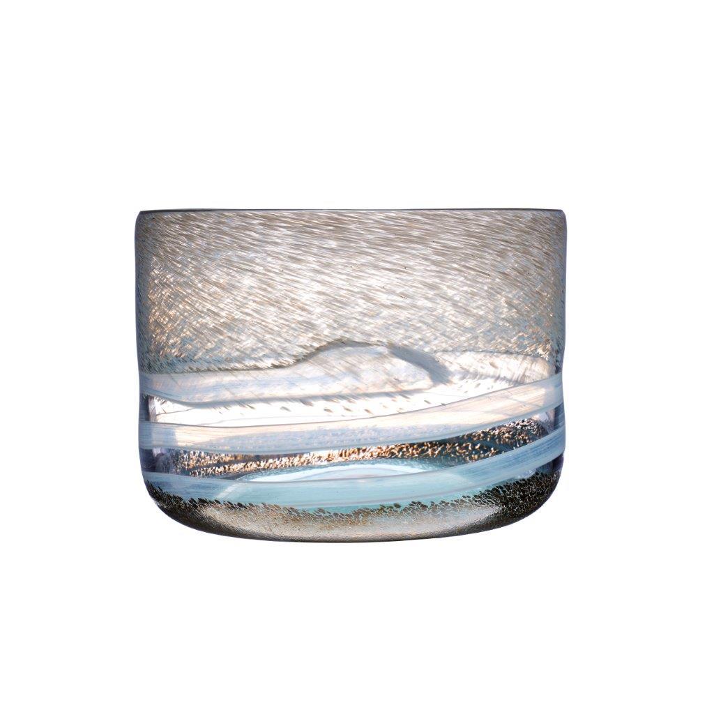 Atlantis Bowl Pyrite 24cmx24cmx16cmH