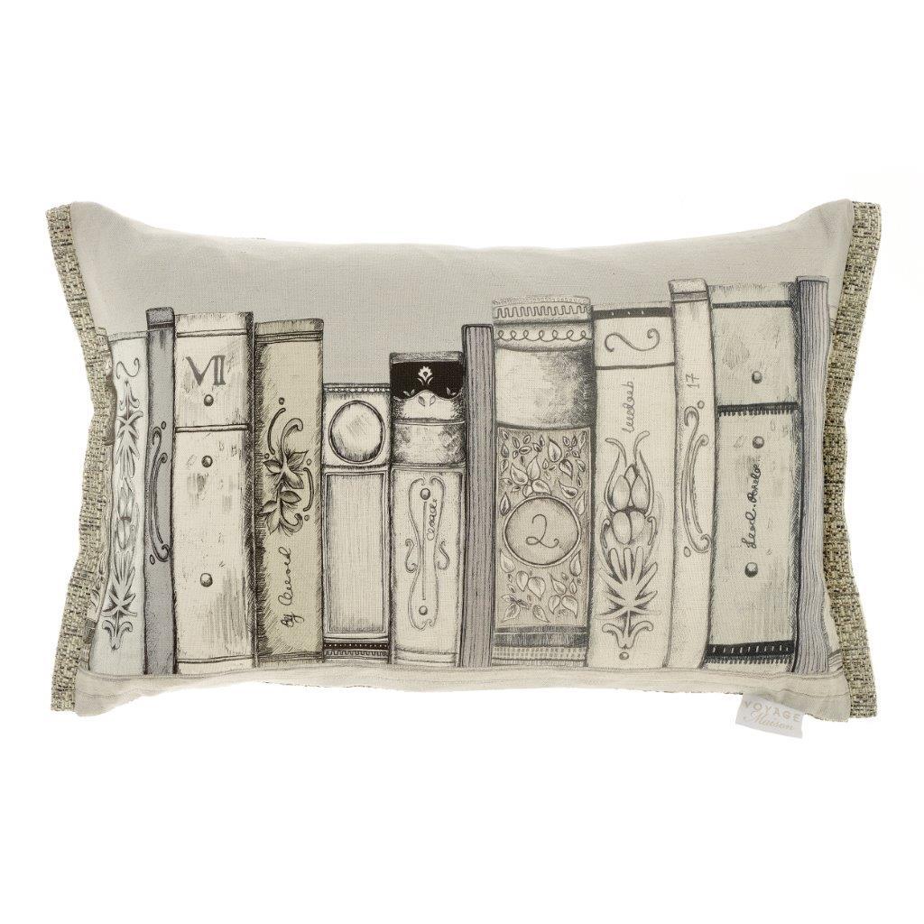 Bibliotheca Linen Cushion 60x40cm