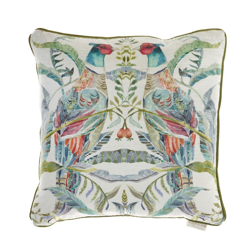 Bideford Pomegrante Linen Cushion 50x50cm