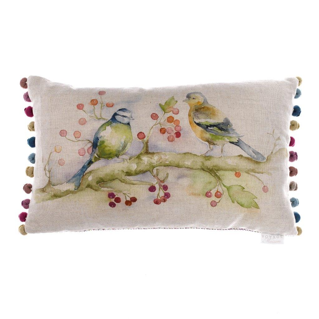 Birdies Linen Cushion 35x60cm