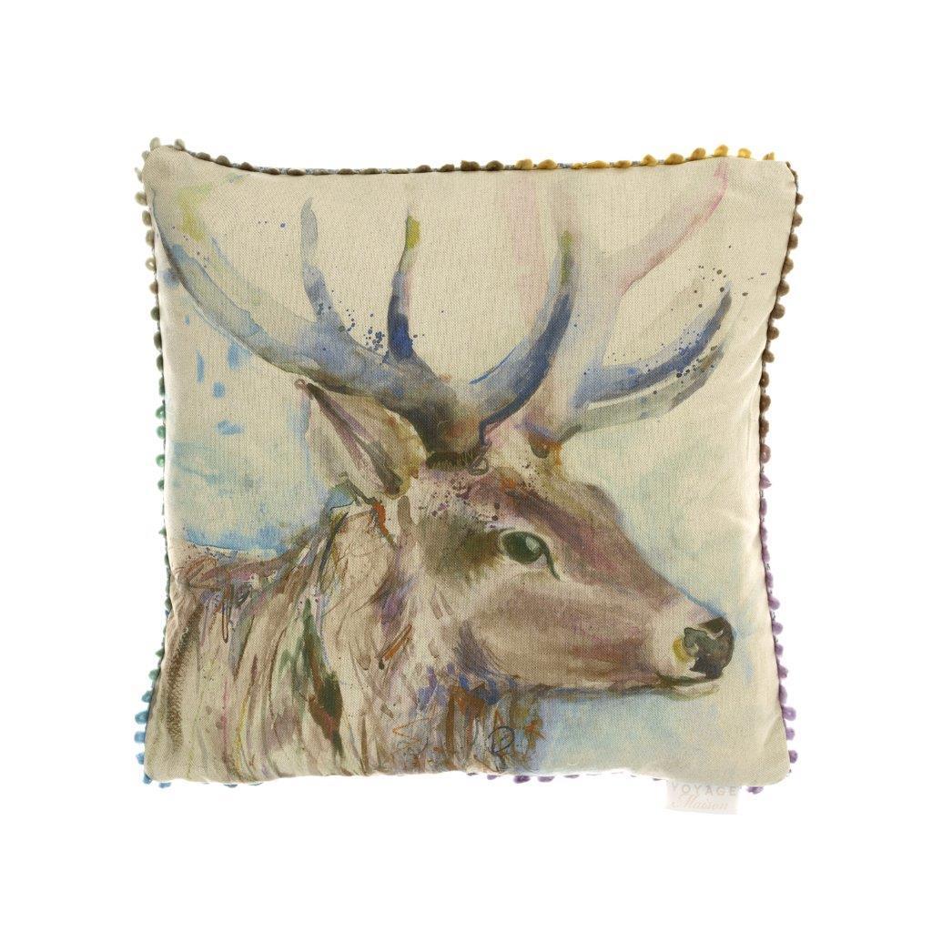 Buck Linen Cushion 43x43cm