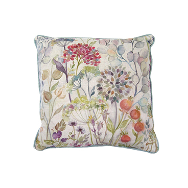Country Garden Linen Cushion 50x50cm