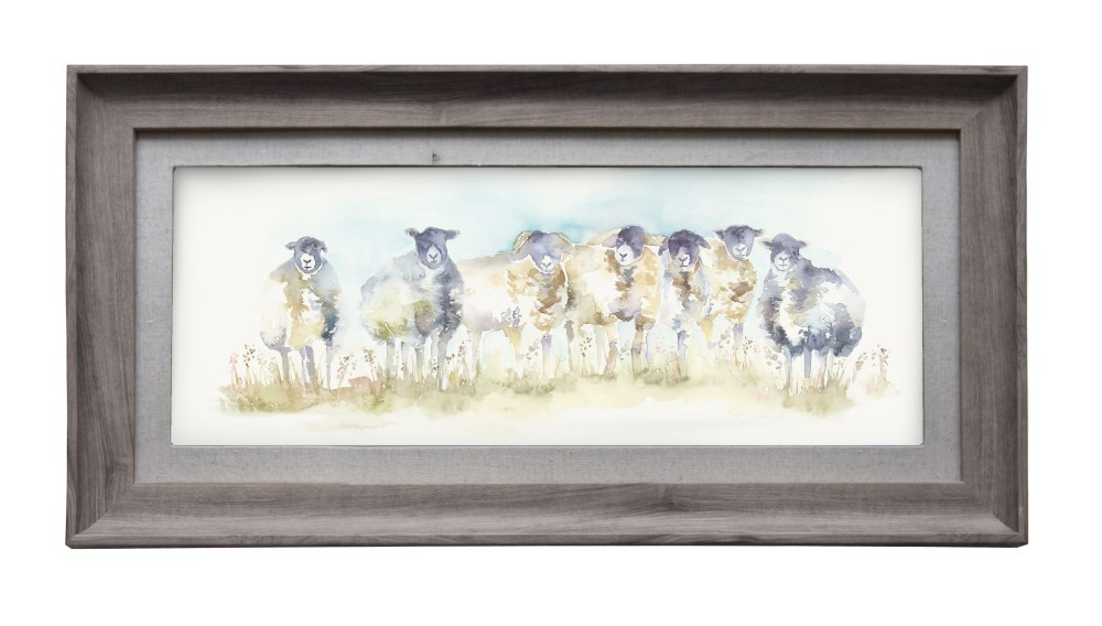 Come By Sheep Wall Art 72cmLx36cmH