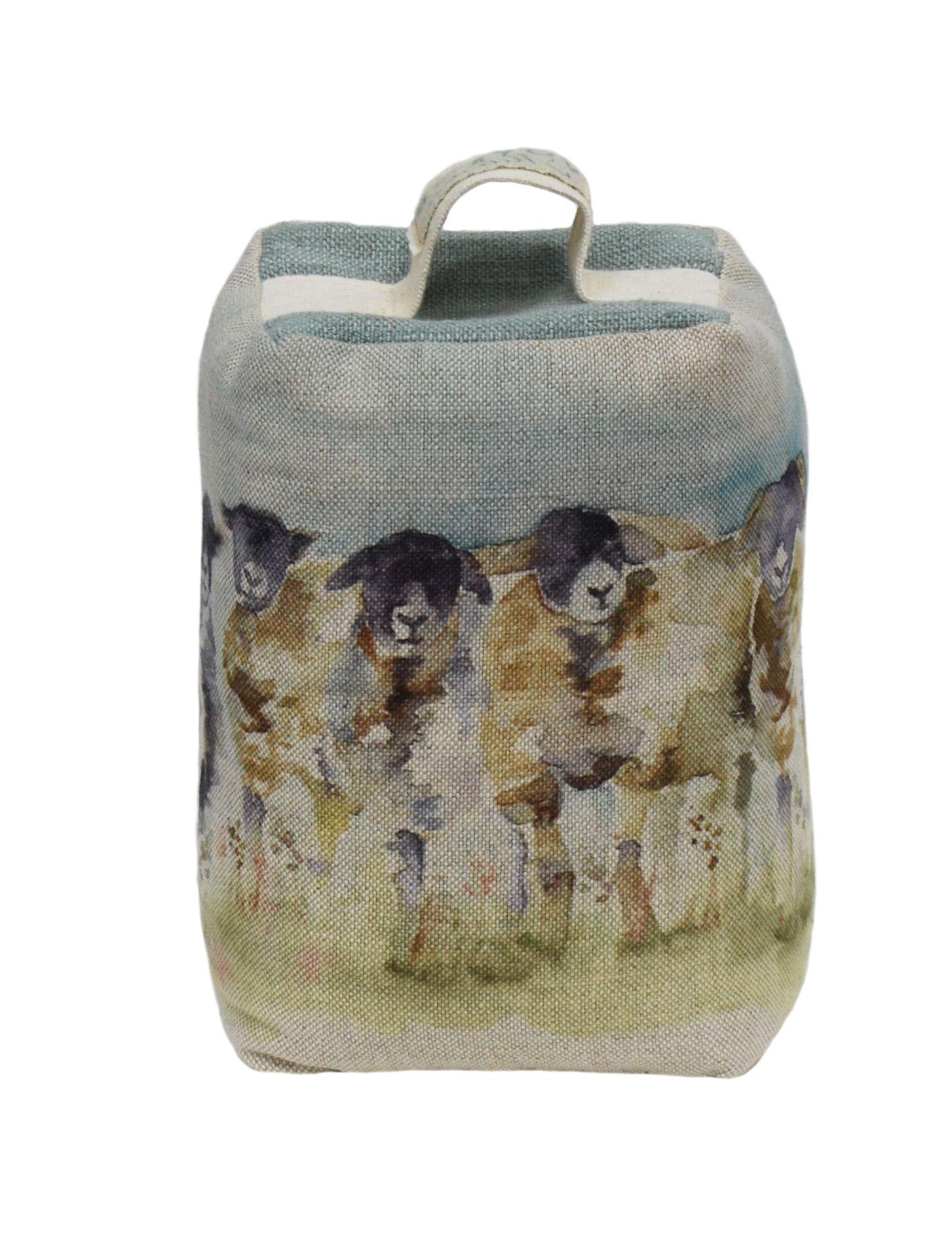 Come By Sheep Doorstop 15cmHx9cm W
