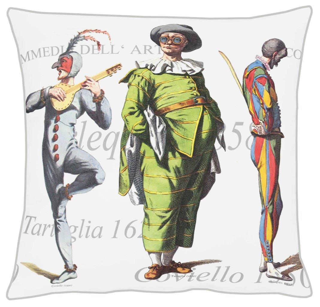 Commedia Cotton Cushion 46x46cm