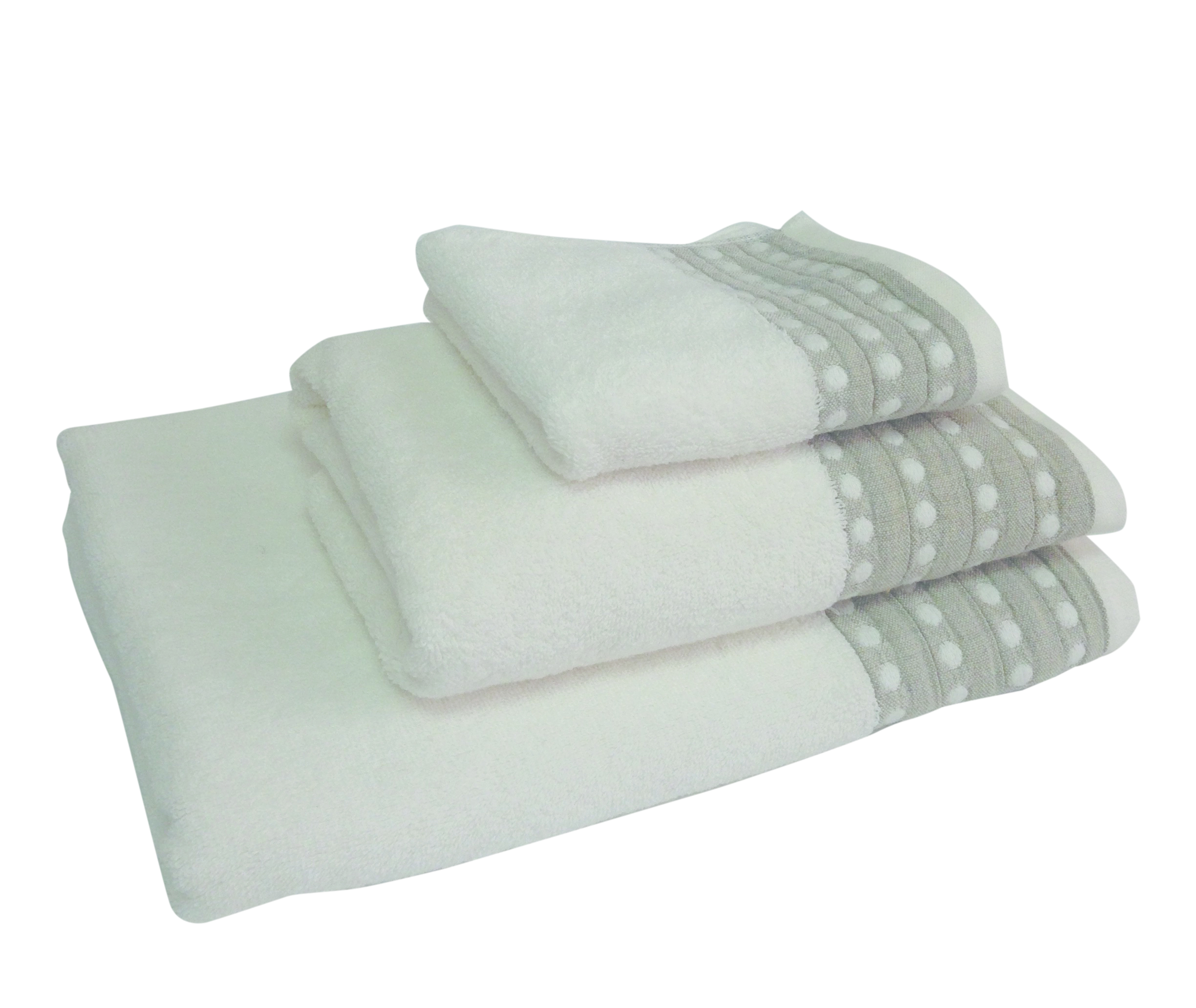 Spoth Ivory Bath Linen 95% Egyptian Cotton 5 % Linen. Face Cloth, Finger Towel, Guest Towel, Bath Towel, Bath Sheet