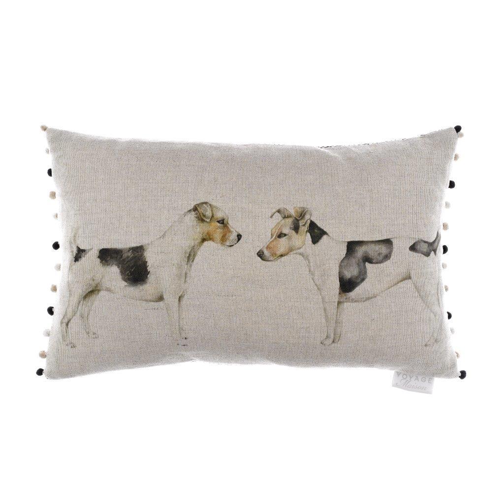 Eddie & Teddie Linen Cushion 30x50cm