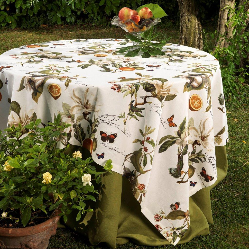 Elfo Cotton Tablecloth Sizes 160x230cm, 170x270cm, 170x310cm