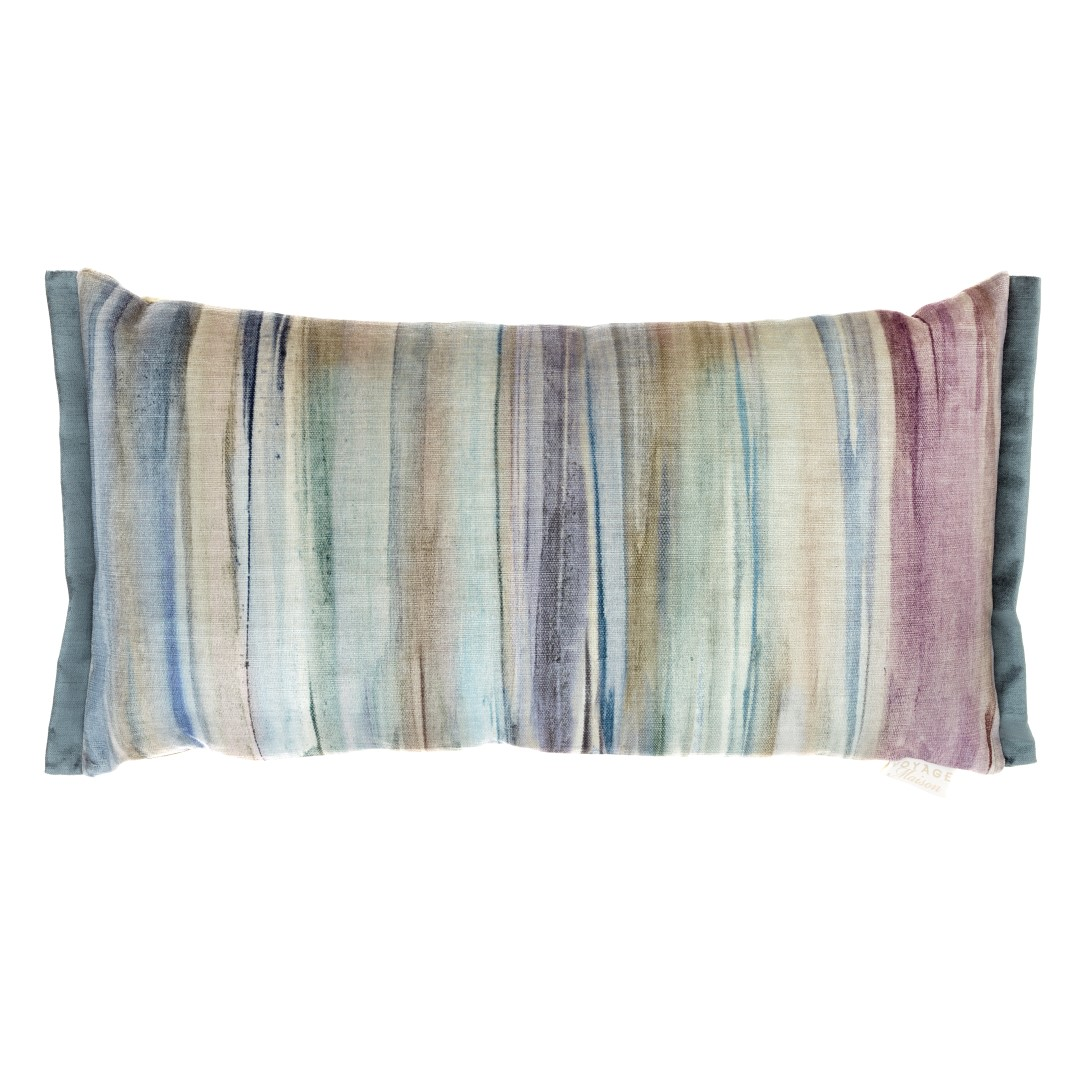 Galatea Amethyst Velvet Cushion 35x65cm