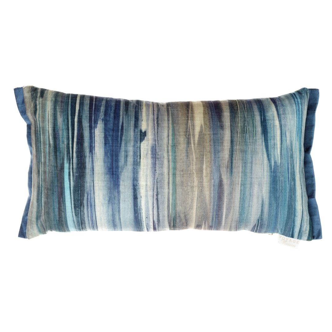 Galatea Midnight Velvet Cushion 35x65cm