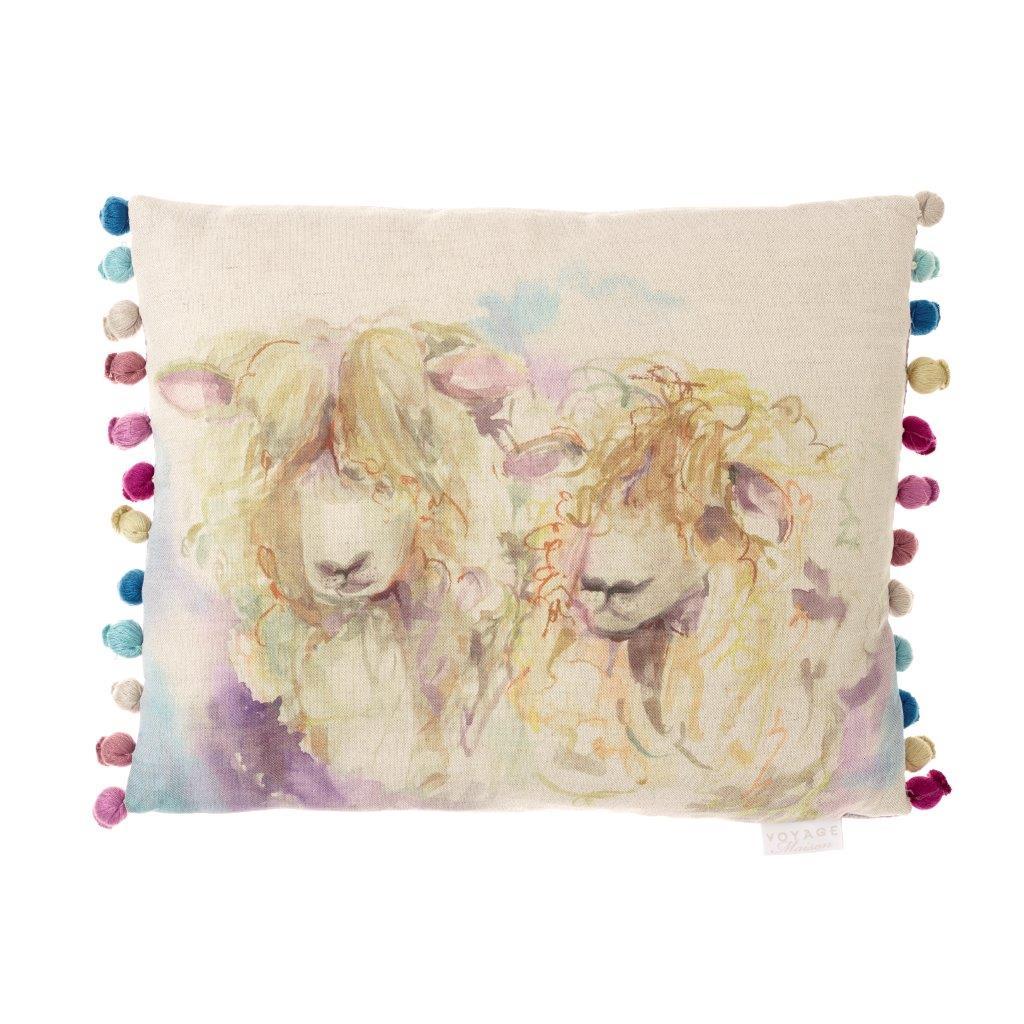 Lincoln Sheep Linen Cushion 40x50cm