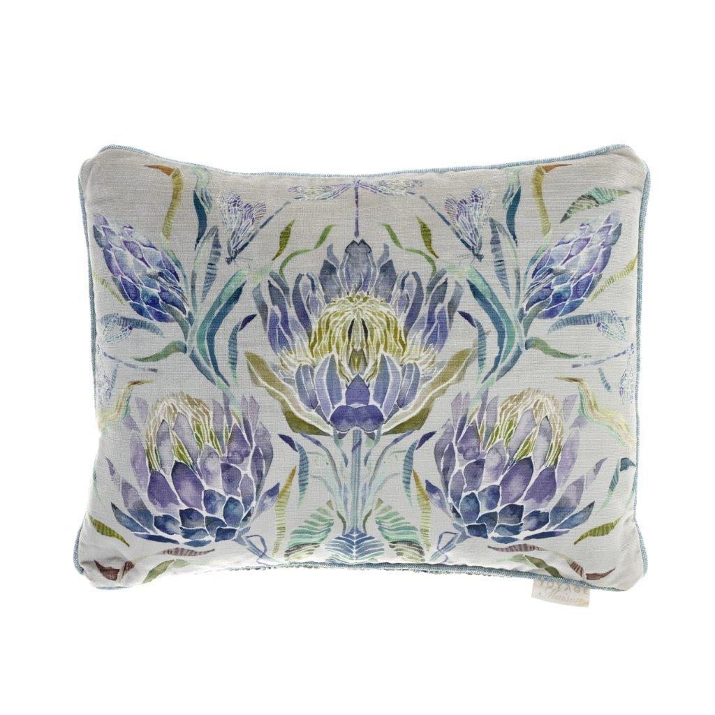 Moorehaven Skylark Velvet Cushion 40x50cm