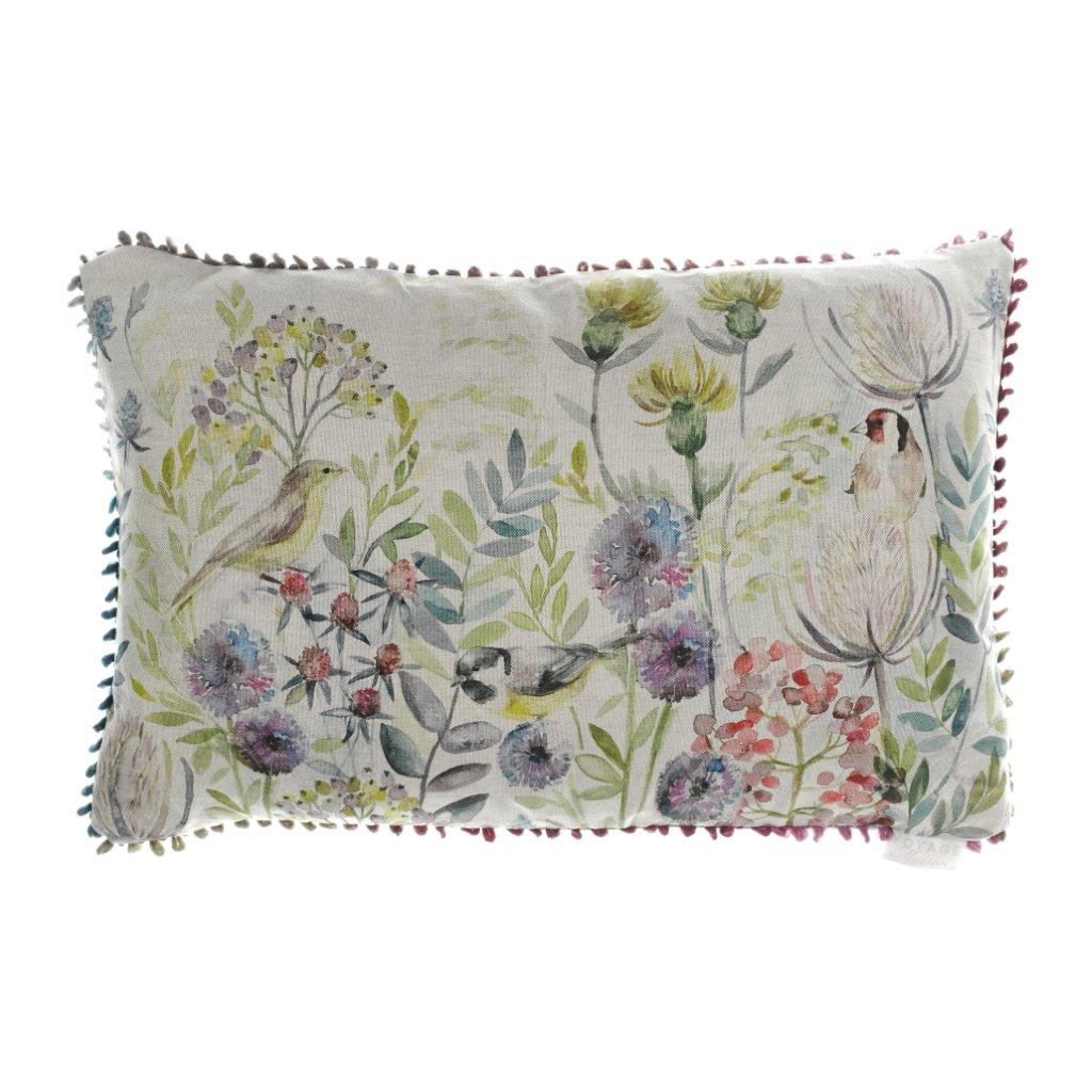Morning Chorus Linen Cushion 40x60cm