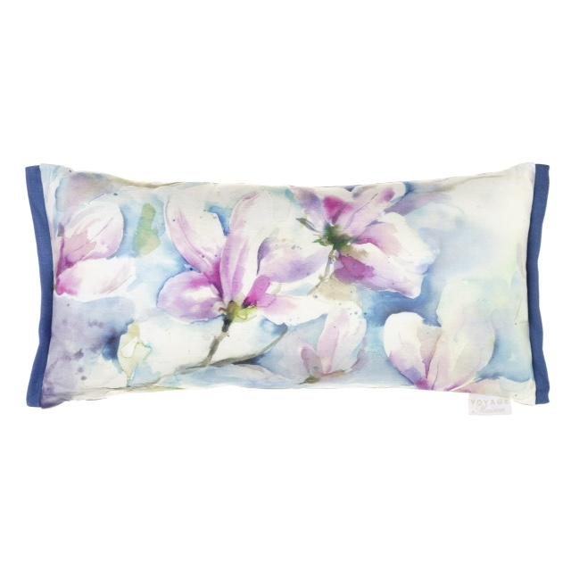 Magnolia Oblong Linen Cushion 30x60cm