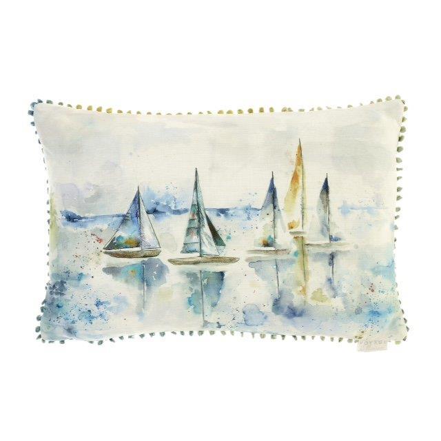 Marine Sail Linen Cushion 40x60cm
