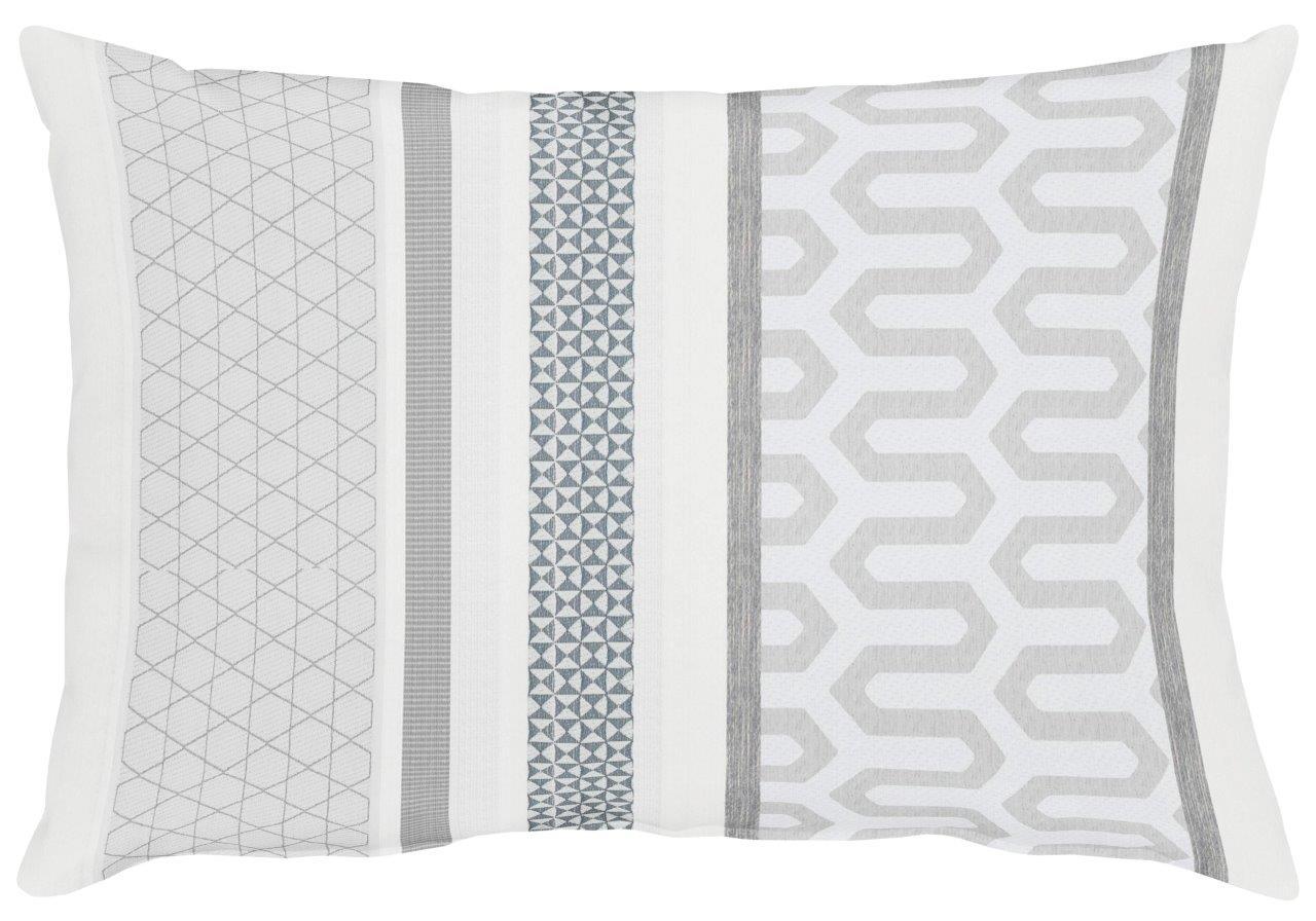 Miron White Cotton Cushion 35x50cm