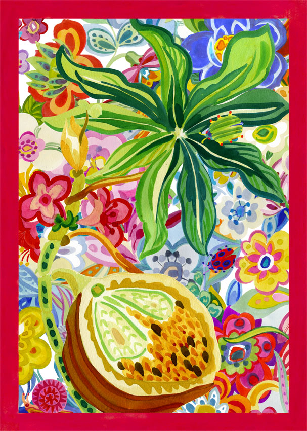 Rio Red Tea Towel 50x70cm