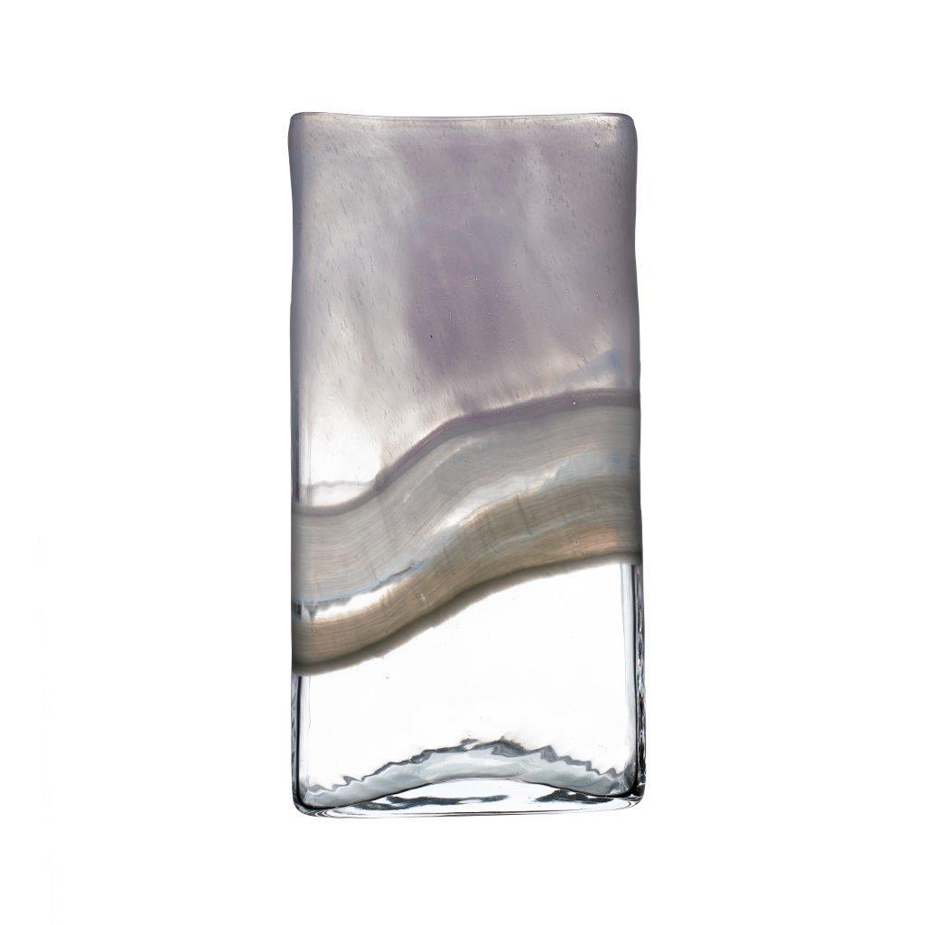 Sabriel Medium Vase Moonstone 30cmHx9cmDx15cmW