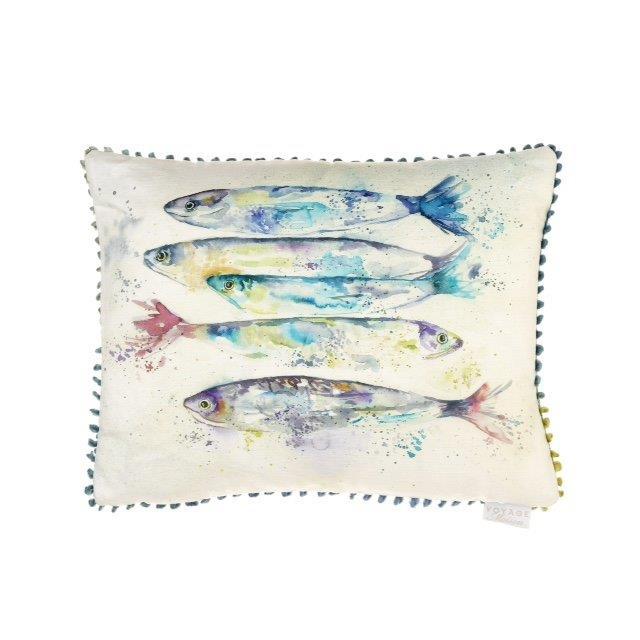 Sardines cushion 40x50cm