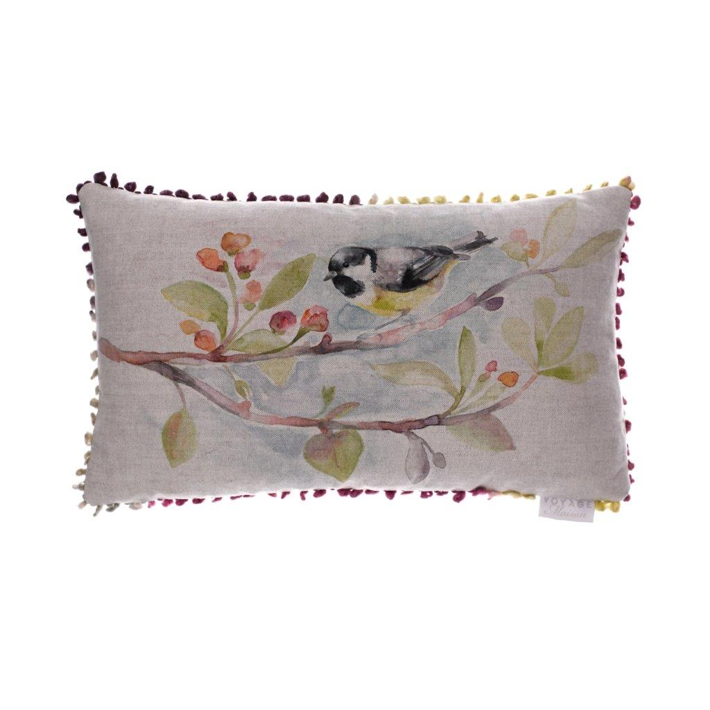 Tweet Linen Cushion 30x50cm