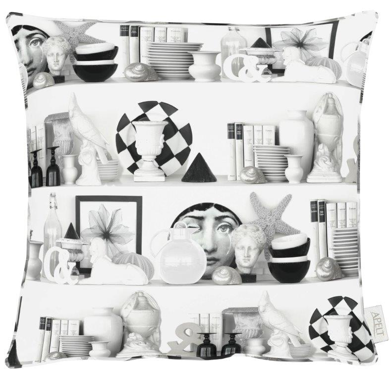 Variete White Cotton Cushion 46x46cm