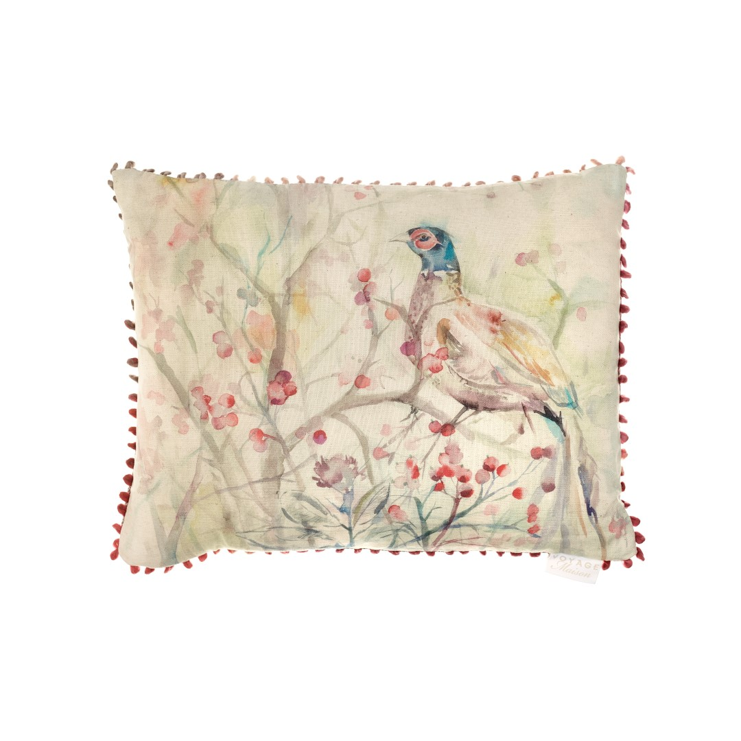 Blackberry Row Linen Cushion 40x50cm