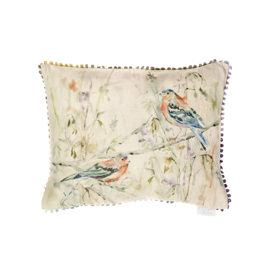 Chaffinch Linen Cushion 40x50cm