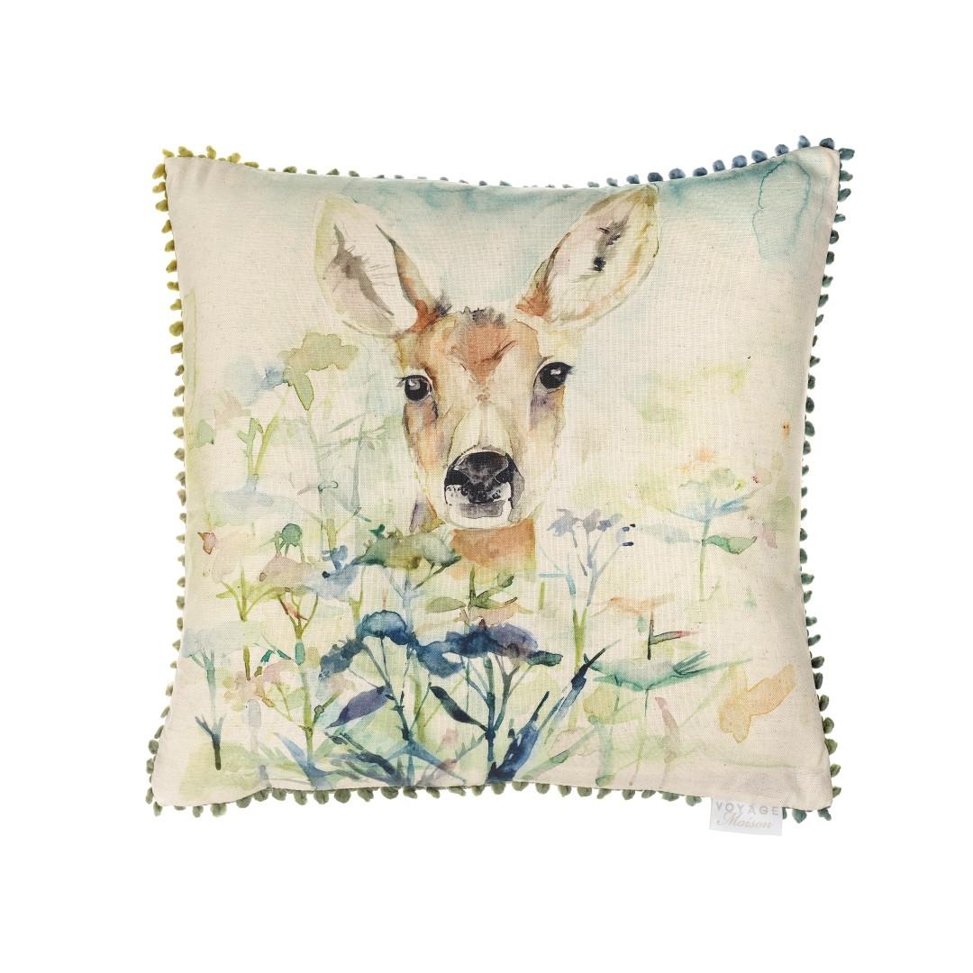 Fawn Linen Cushion 50x50cm