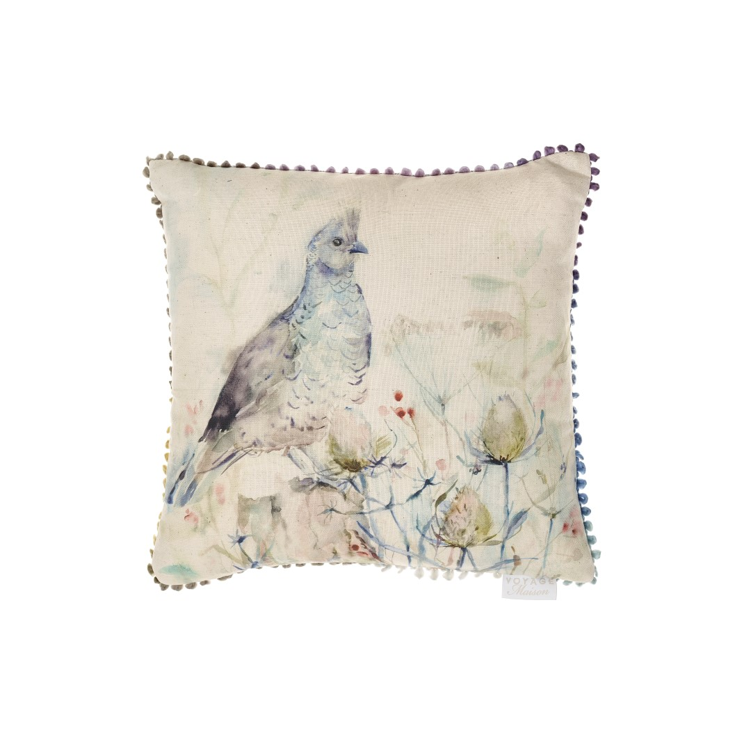 Lomond Quail Linen Cushion 43x43cm