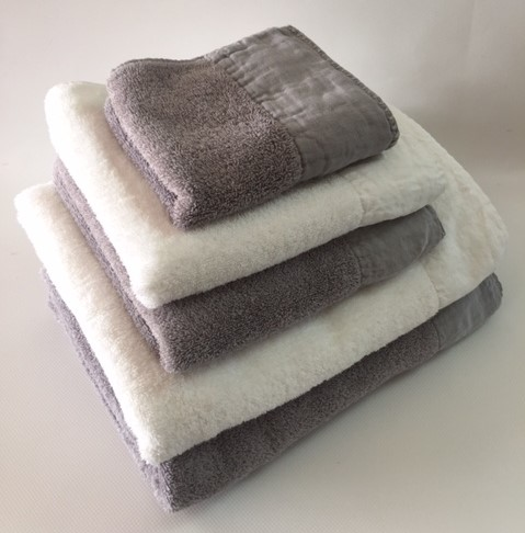Parma Bath Linen 95% Egyptian Cotton 5 % Linen. Face Cloth, Finger Towel, Guest Towel, Bath Towel, Bath Sheet