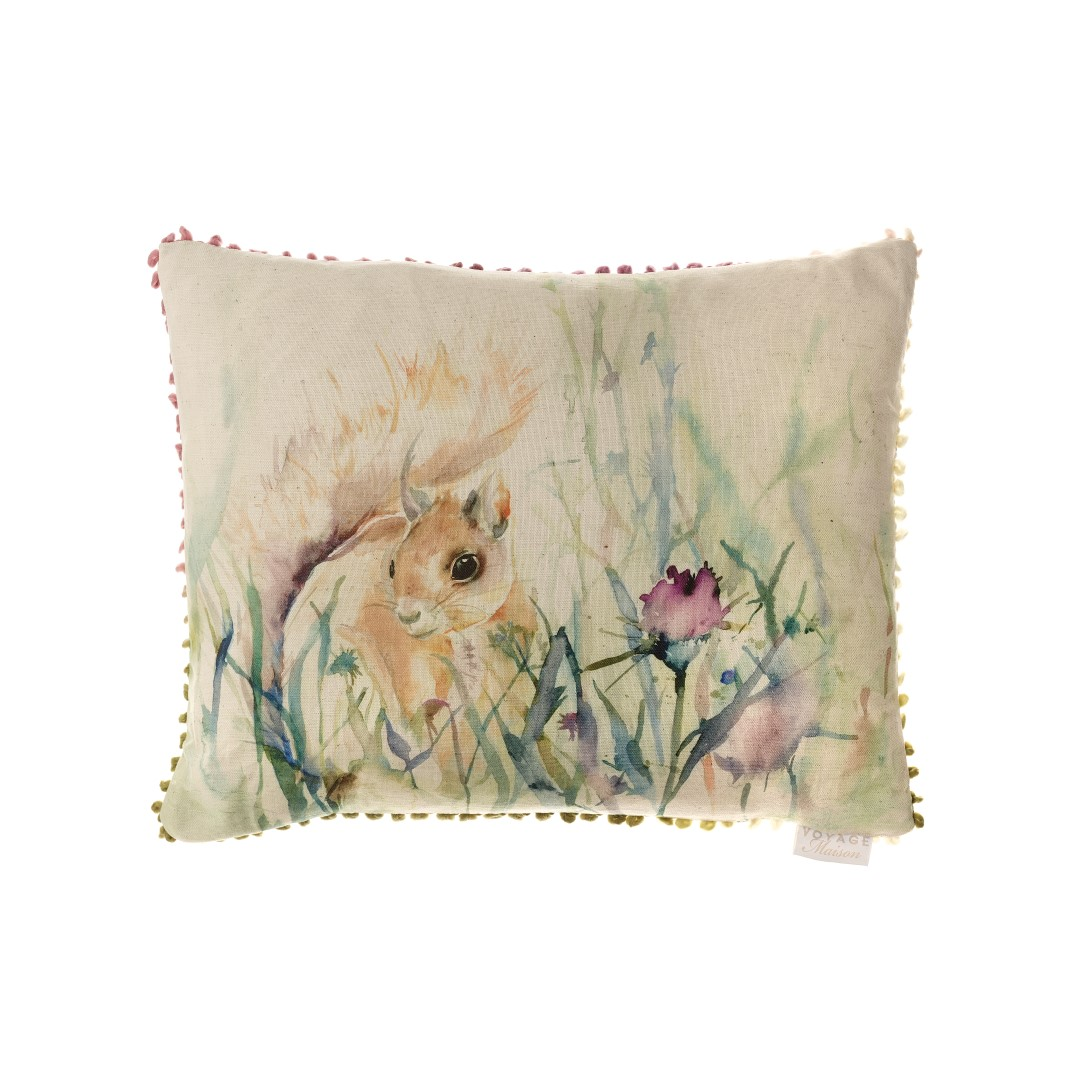 Winter Harvest Linen Cushion 45x50cm