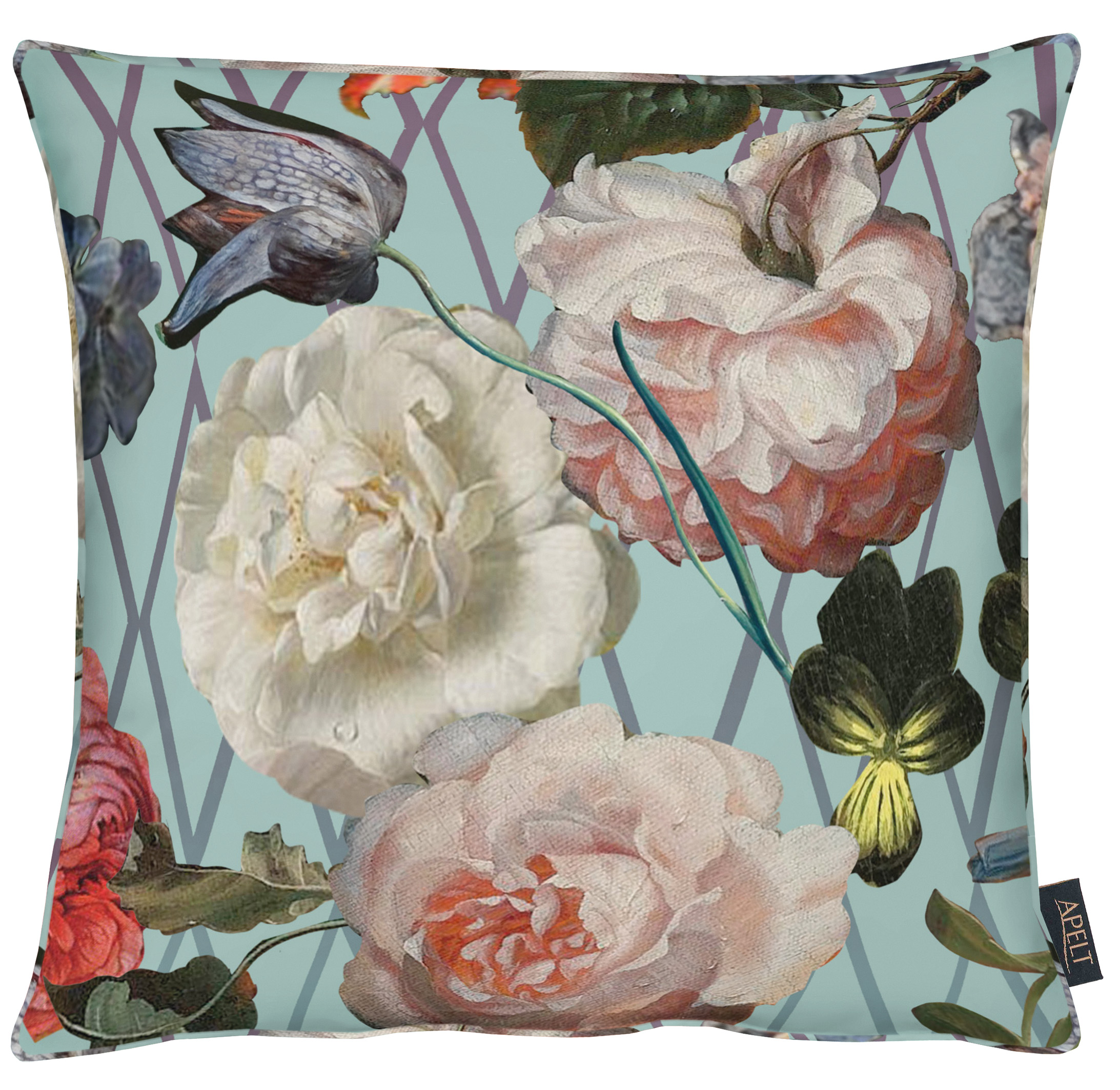 Sibylla Paris Green Velvet Cushion 46x46cm