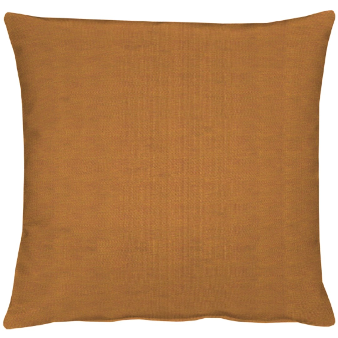 Torino Ginger Cotton Cushion 49x49cm
