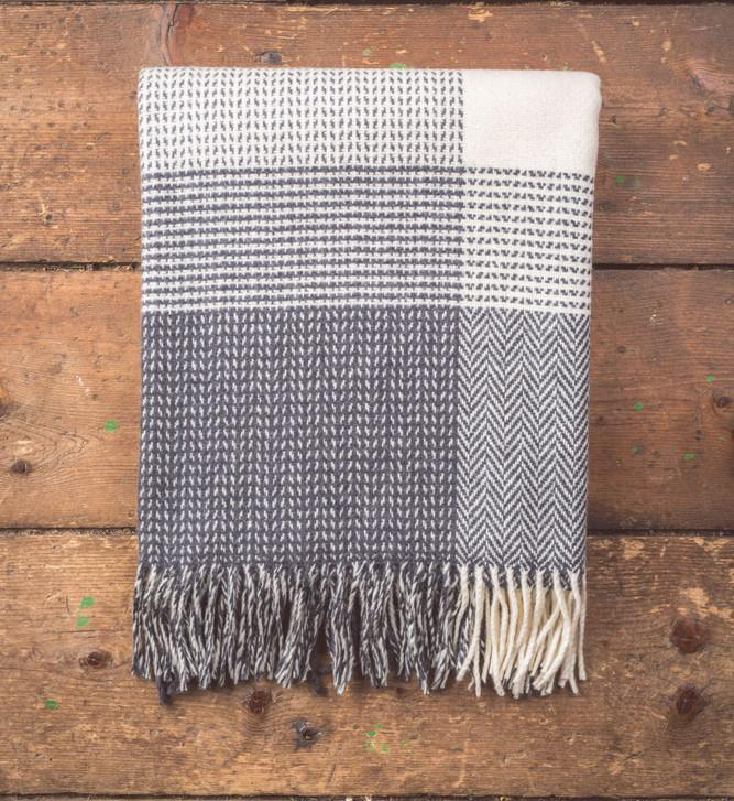 Cashmere Dobby Cahsmere/Wool Throw 150x180cm