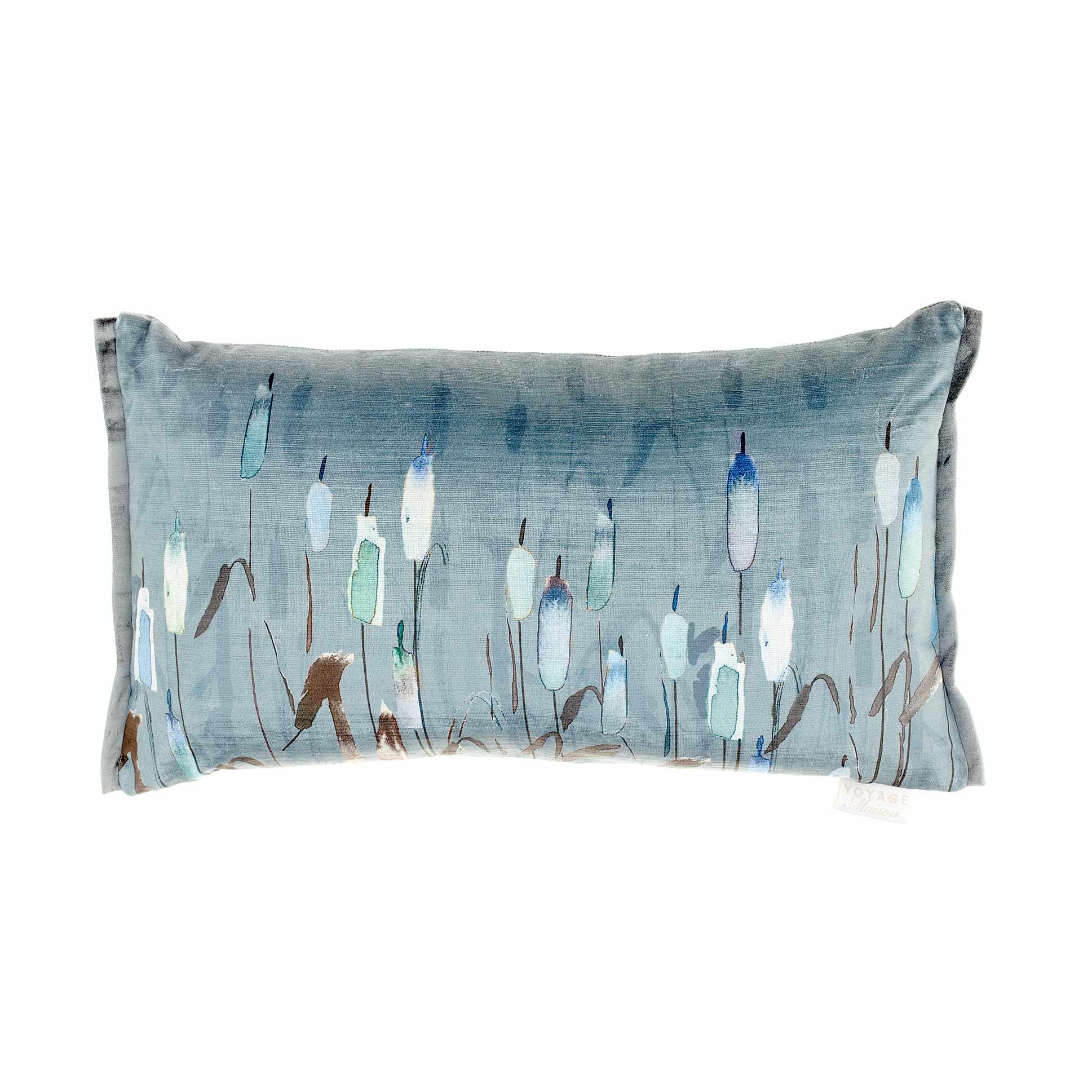 Orientalis Cobalt Velvet Cushion 35x60cm