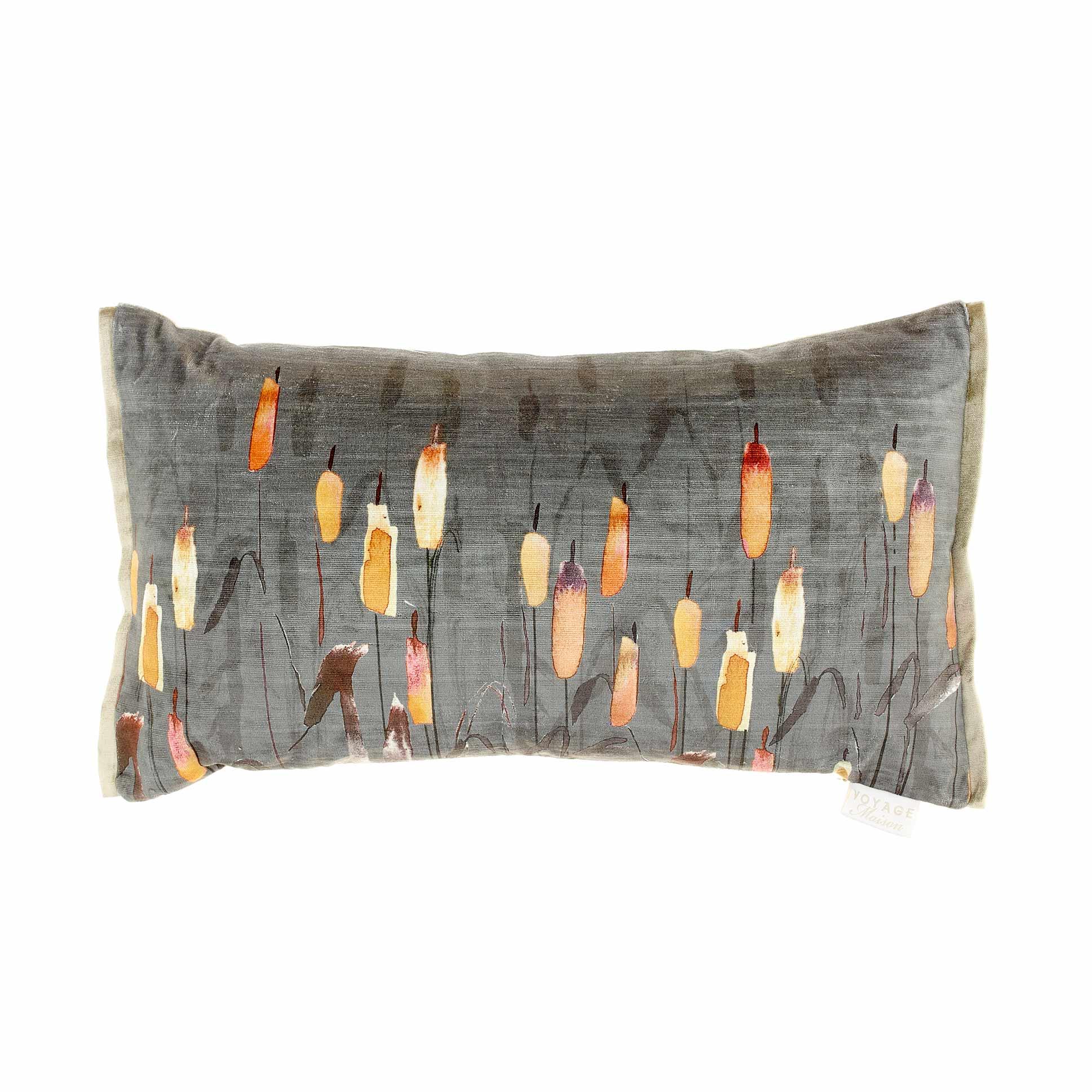 Orientalis Amber Velvet Cushion 35x60cm