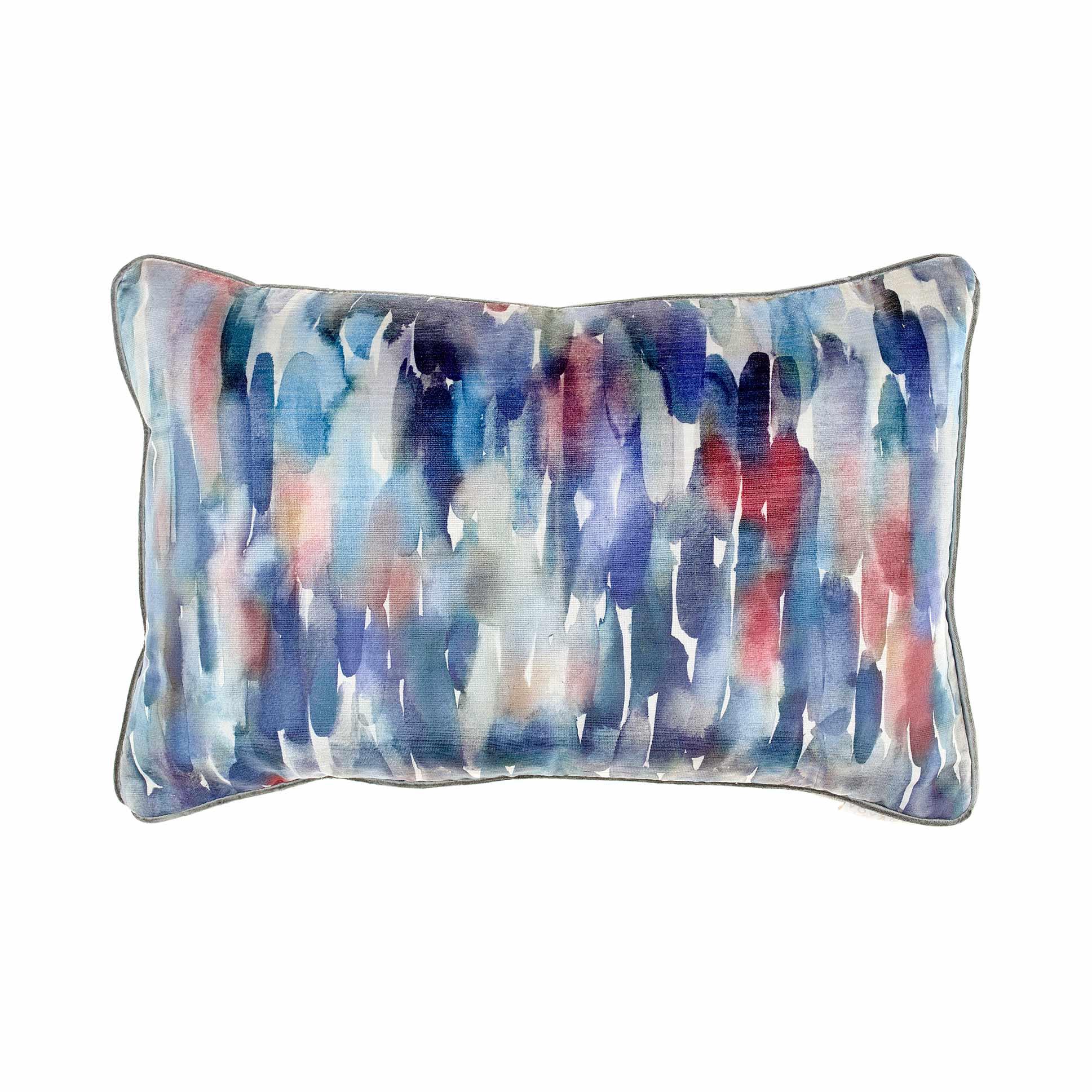 Azima Cobalt Velvet Cushion 40x60cm