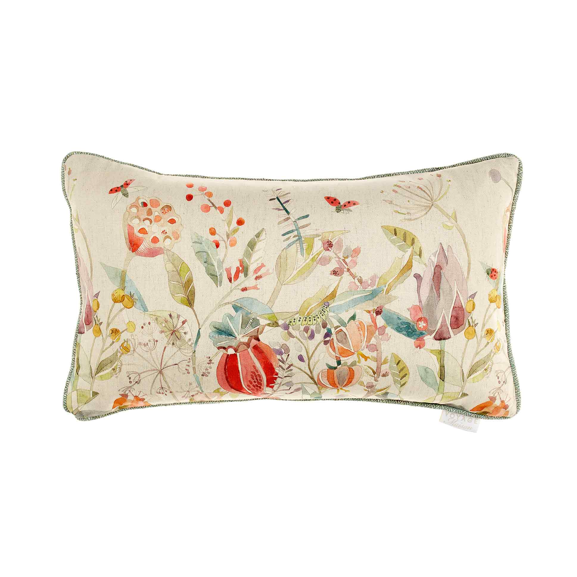 Kelston Cinnamon Linen Cushion 35x60cm