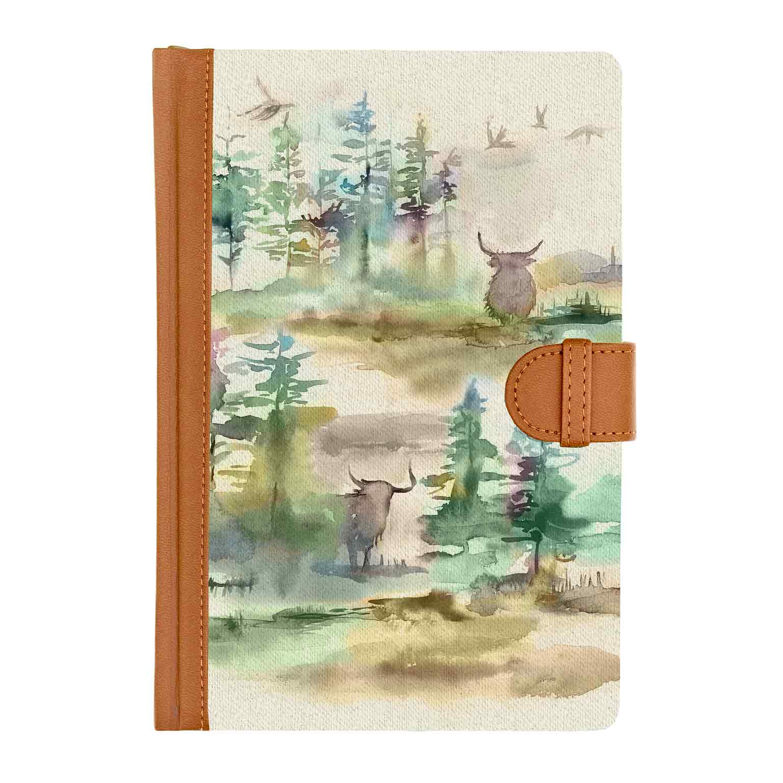 Caledonian Forest Notebook 15x21cm