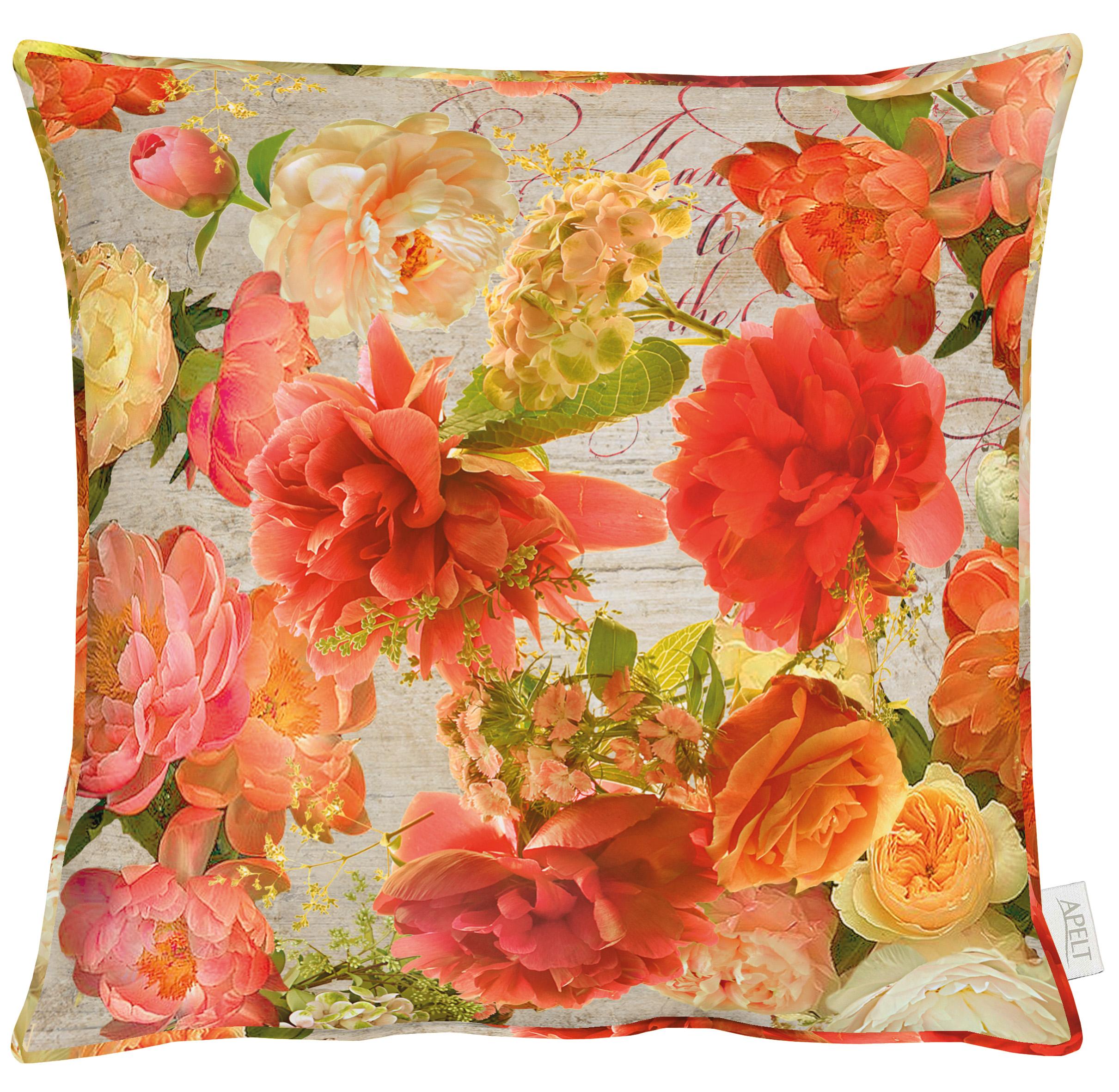 Jardin Orange Cushion 49x49cm