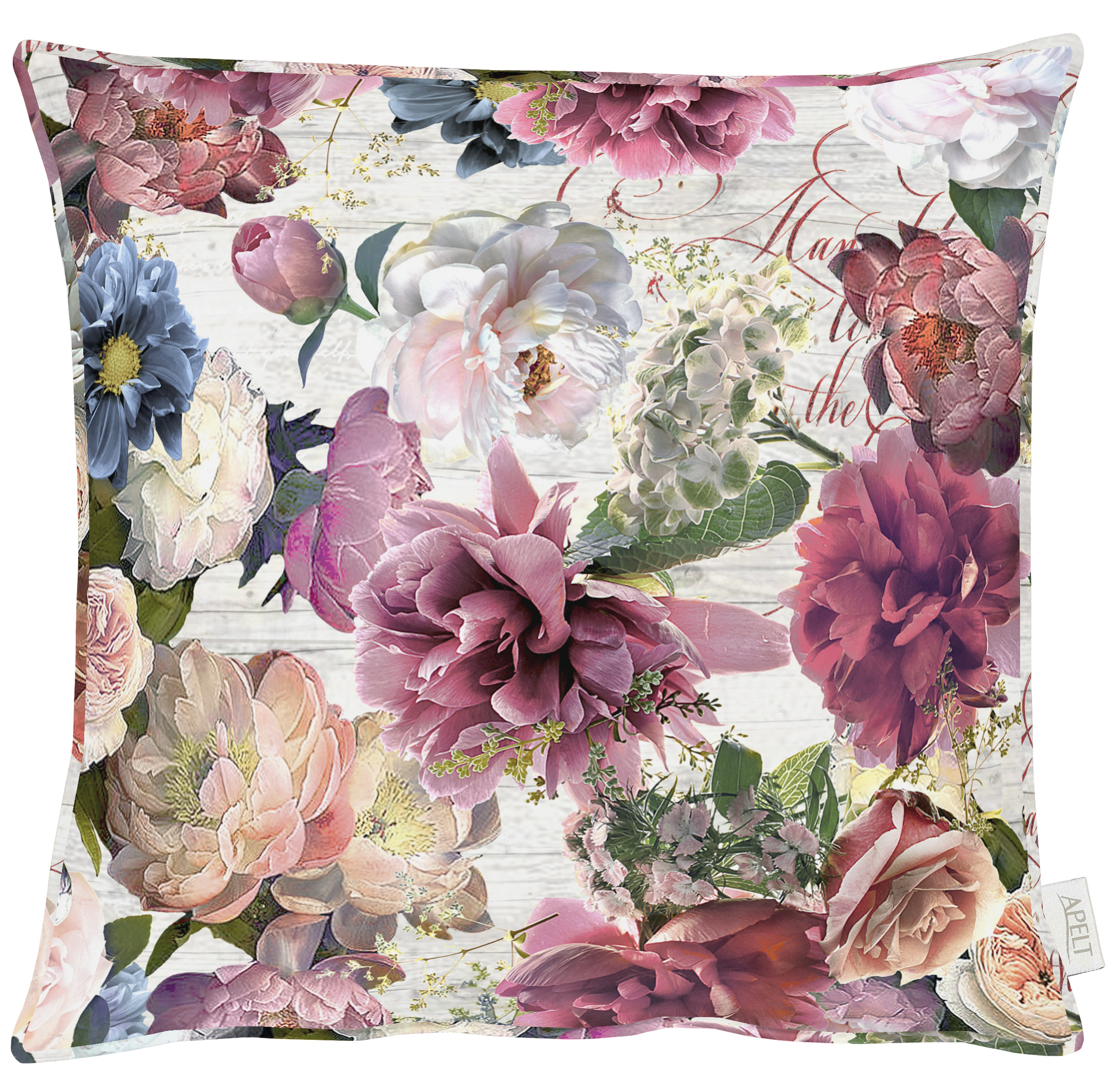 Jardin Plum Cushion 49x49cm
