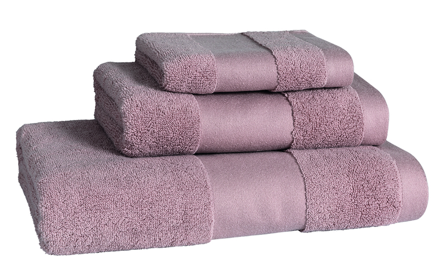 Aviao Blush Bath Linen - Facecloth 30x30, Finger Towel 30x50, Guest Towel 50x100, Bath Towel 70x140