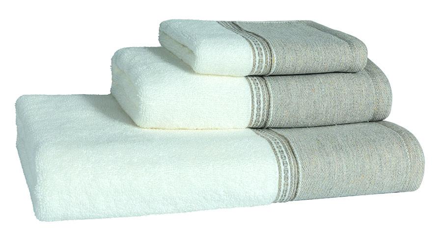 Bordo De Lino Bath Linen - Finger Towel 30x50, Guest Towel 50x100, Bath Towel 70x140, Bath Sheet 100x150