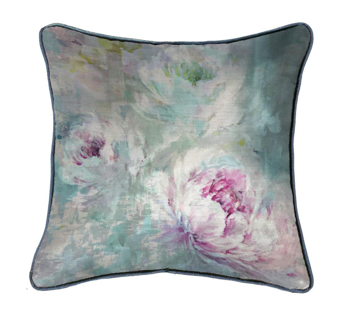 Roseum Moonstone Velvet Cushion 50x50cm