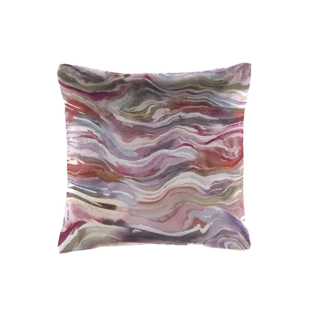 Verde Coral Velvet Cushion 43x43cm