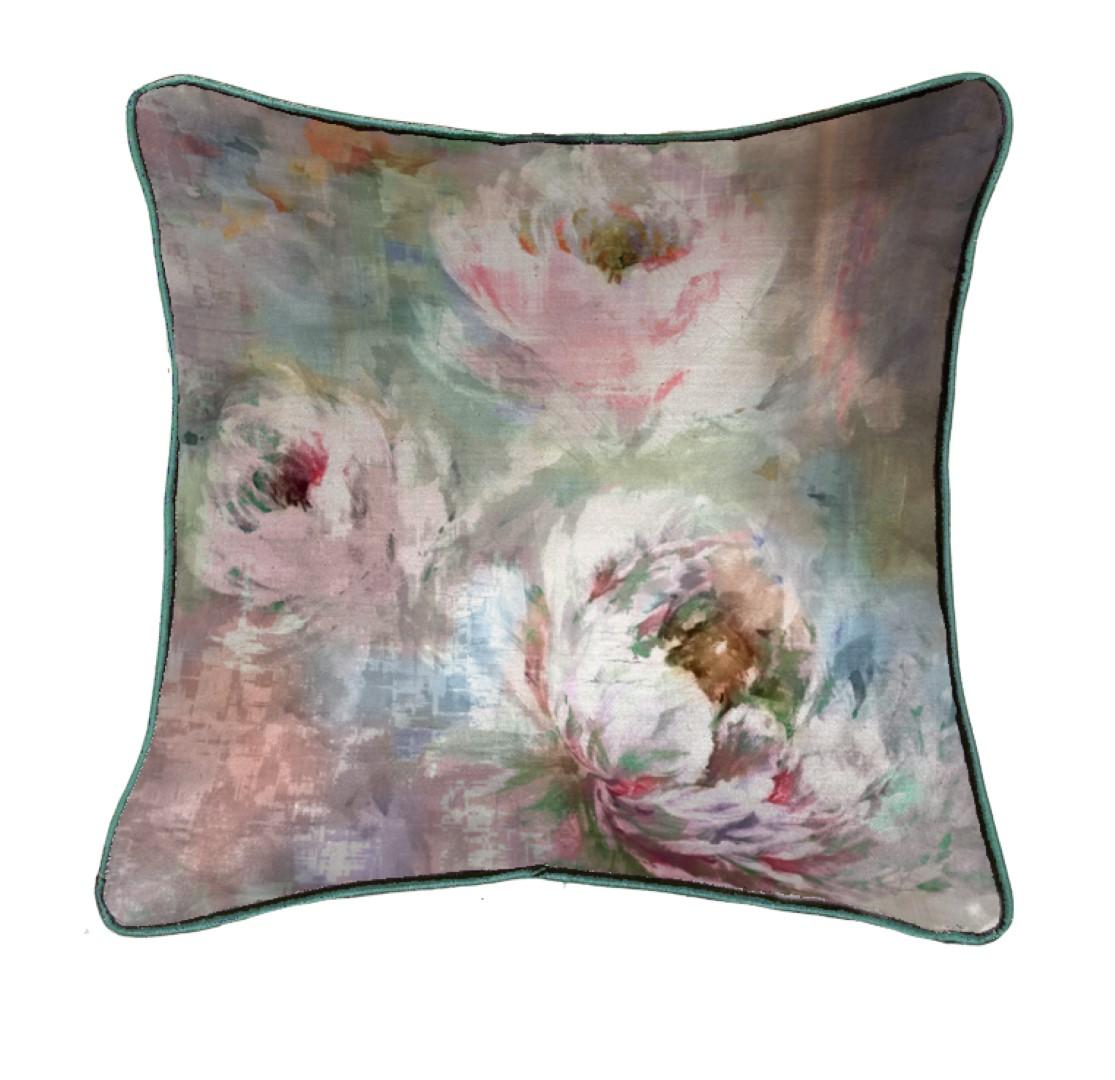 Roseum Coral Cushion 50x50cm