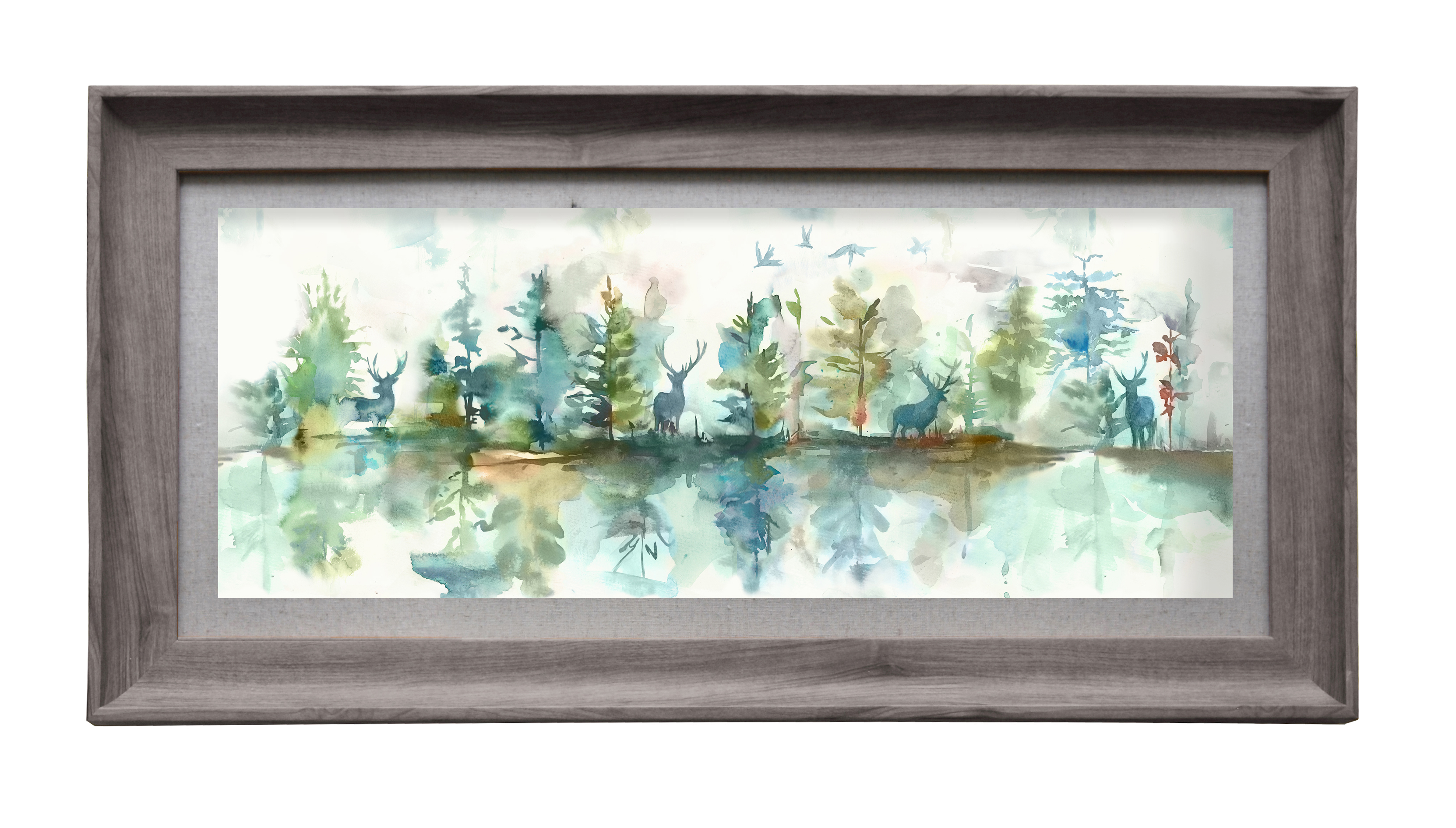 Wilderness Topaz Wall Art 72cmLx36cmH